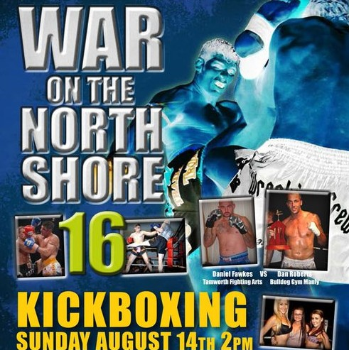 war on the north shore 16 poster